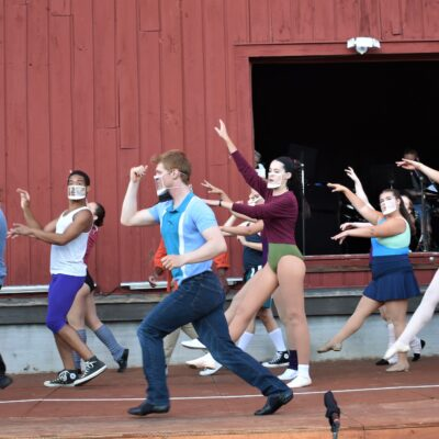 A Chorus Line Rings Loud in Rhinebeck