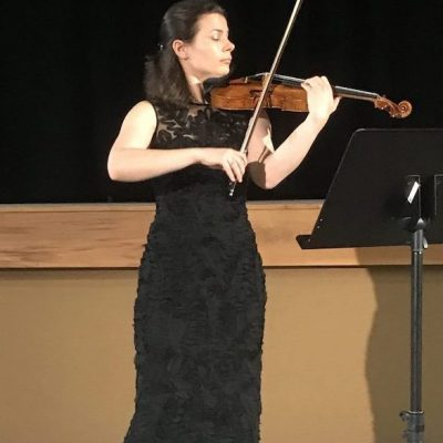 Bella Hristova at The Stissing Center: Waves of Sound