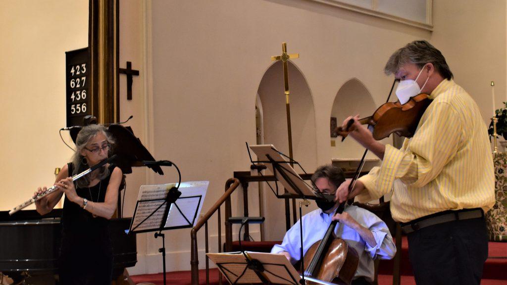 The Sherman Ensemble in Full Swing