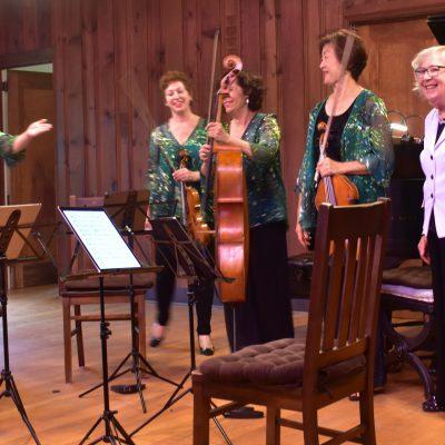 Cassatt Quartet at Music Mountain
